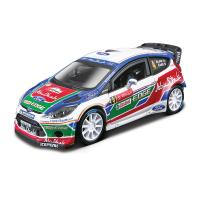 1:32 BB Машина Ралли -  2011 BP Ford Fiesta S2000 (Яри-Матти Латвала) №4 металл. в пластиковом диспенсере Bburago 18-41034