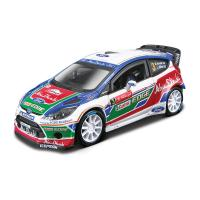 1:32 BB Машина Ралли - 2011 BP Ford Fiesta S2000 (Микко Хирвонен) №3 металл. в пластиковом диспенсе Bburago 18-41035