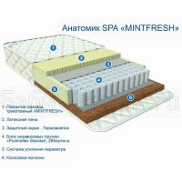Матрас Афалина Анатомик Spa Mintfresh 120x60