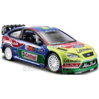 1:32 BB Машина Ралли-2012 BP Ford Abu Dhabi Команда №4 металл. Bburago 18-41039