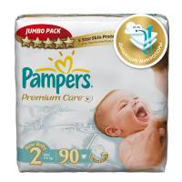 Подгузники Pampers Premium Care 3-6 кг. 90 шт. (2)