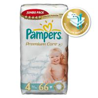 Подгузники Pampers Premium Care 7-14 кг. 66 шт. (4)