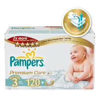 Подгузники Pampers Premium Care 4-9 кг. 120 шт. (3)