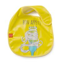 Нагрудник Happy Baby на липучке Waterproof Baby Bib 16009