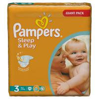 Подгузники Pampers Sleep&Play 4-9 кг. 100 шт. (3)