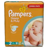 Подгузники Pampers Sleep&Play 3-6 кг. 88 шт. (2)