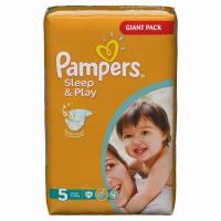 Подгузники Pampers Sleep&Play 11-18 кг. 74 шт. (5)