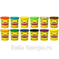 Пластилин: 1 Банка (в ассорт.) Play-Doh Hasbro 22002H
